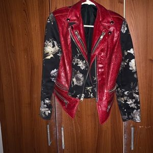 One of a kind jacket! Handmade by a designer.